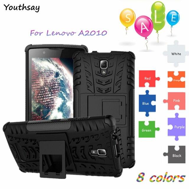 """Cover Case Lenovo A2010 Case For Lenovo A2010 Youthsay Shockproof Hard Silicone Armor Cover For Coque Lenovo A2010-A A 2010 4.5"""""""