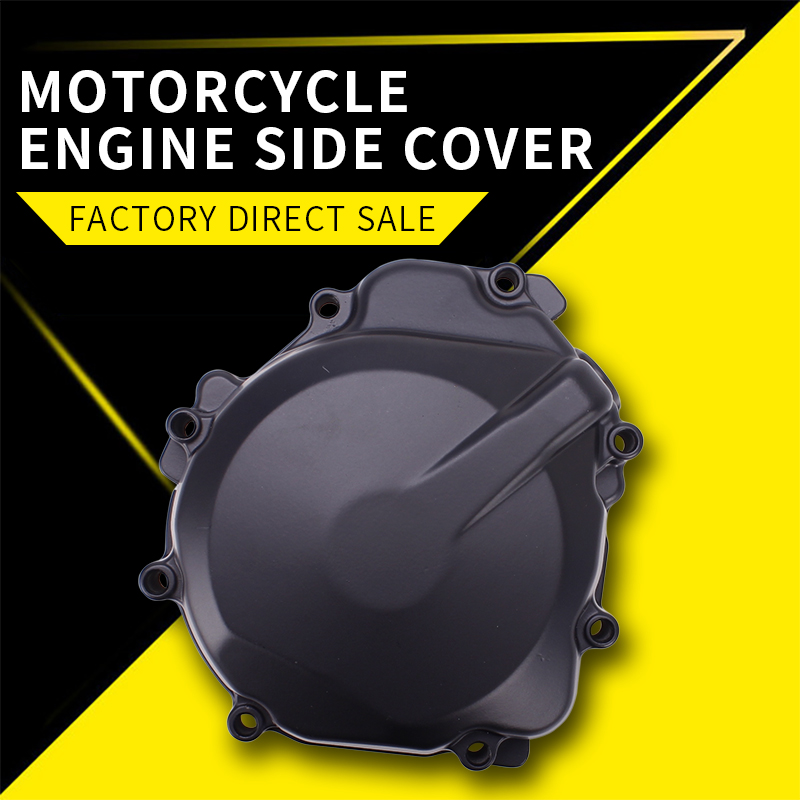 Motorcycle Engine Cover Motor Stator Cover CrankCase Cover Shell For Suzuki GSXR1000 2003 2004 K3 GSXR600 GSXR750 K4 2004 2005 2pcs engine stator cover crankcase for bmw r1200rt r1200st r1200gs 2004 2007 2005 2006 chrome