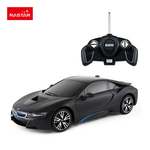 Placeholder Rastar Licensed Rc Car 1 18 Bmw I8 Hot Plastic Material Electric Vehicle Kids