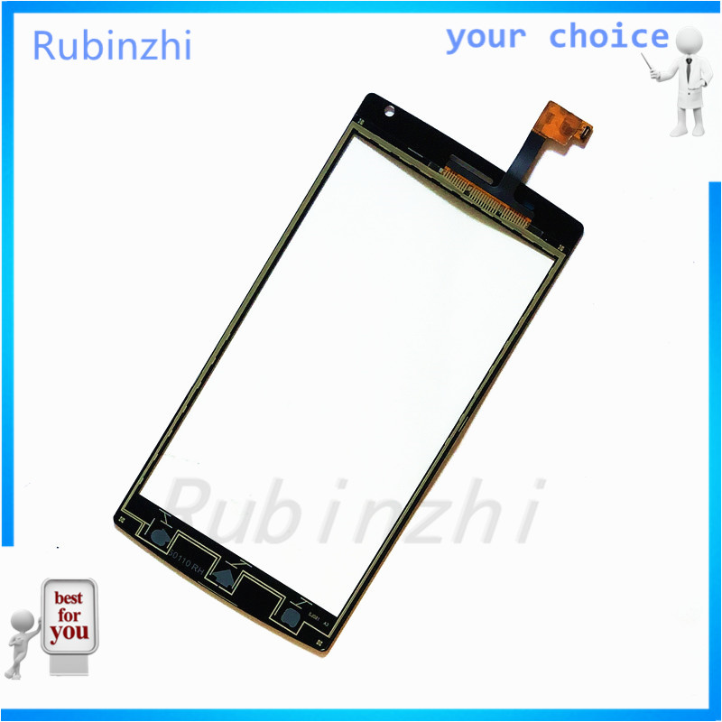 RUBINZHI  Phone Touch Screen Panel For MegaFon MFLoginPh Login Plus Touchscreen Digitizer Front Glass Replacement Sensor+tape Lahore