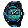 2016 Esportes Homens Relógios Relógio Do Esporte À Prova D' Água 5ATM Data/Semana Alam Cronômetro Display LED Digital Natação Mergulhadores Relógios