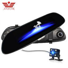 ANSTAR 3G GPS Car DVR Camera Video Recorder Android 5.0 Bluetooth FM WIFI Dual Lens Rearview Mirror Camcorder Dash Cam Dvrs