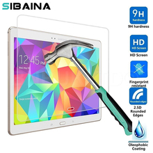 SIBAINA Hard Transparent Screen Protector Tempered Glass for Samsung Galaxy Tab 4 T530 10.1 inches Screen Protection