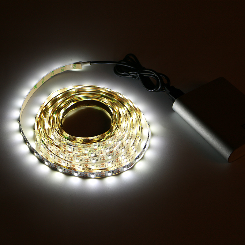 5V USB Cable LED Strip Light Lamp SMD3528 50cm 1m 2m 3m 4m 5m Christmas Flexible Led Stripe Lights TV Background Lighting
