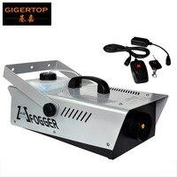 TP T51 1200 Вт туман машина кабель управления/пульт дистанционного управления DJ Fogger дым машина 1200 Вт сценический эффект машина Flightcase опциональн