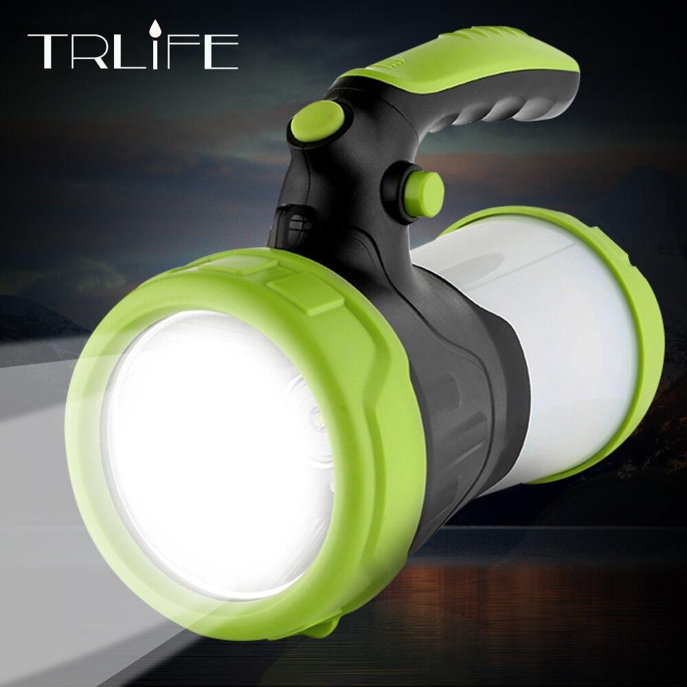 4000 мАч светодиодный фонарик лампа USB рабочие лампы прожектор Встроенный 2*26650 факел портативный фонарь водостойкий охотничий свет