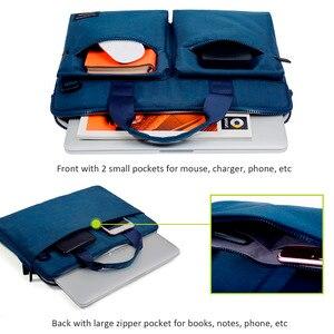 Image 4 - Cartinoe yeni laptop çantası 11, 13.3, 14, 15.4, 15.6 inç Macbook Air 13 için kılıf su geçirmez naylon dizüstü bilgisayar çantası 13.3/15.6 inç
