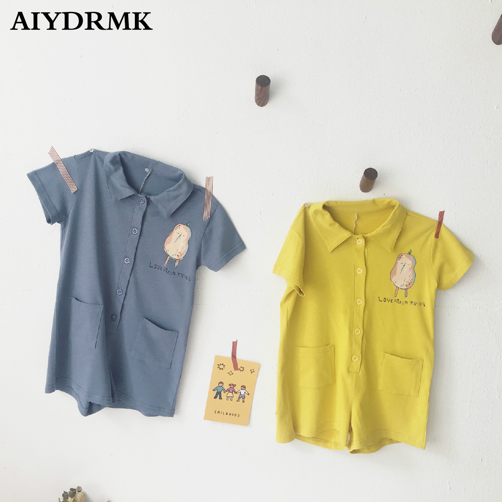 Baby Boy Romper One piece Babyboy Clothes Newborn Summer Baby Clothes Cotton Toddler Romper Infant Overall Jumpsuit Playsuit