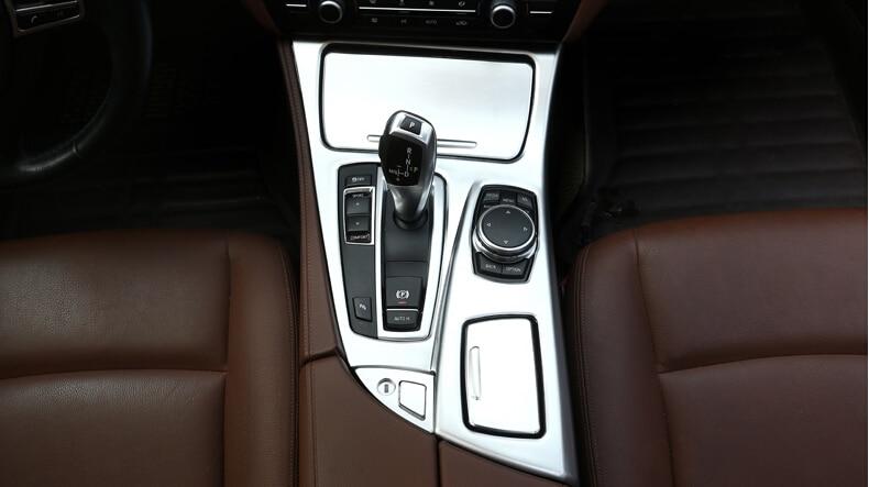 For BMW 5 Series F10 2014-2017 520li 525li 530li ABS Center Console Gear Shift Cover Trim Car Accessories Parts