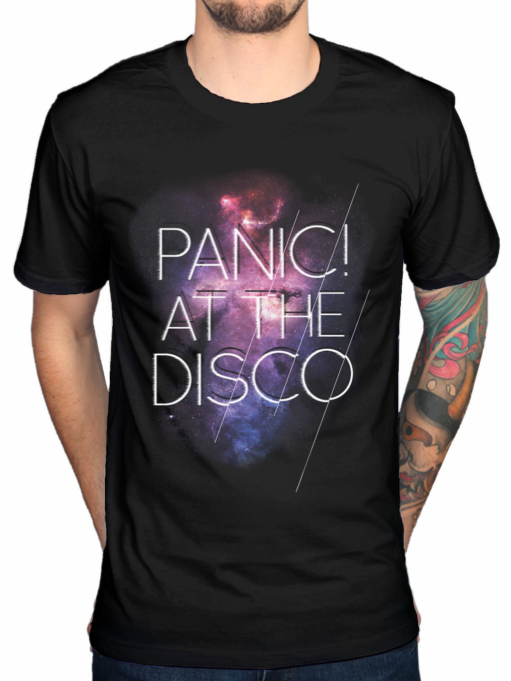 Panic At The Disco Cosmic T-Shirt PATD Panic! Live In Chicago Pretty Od