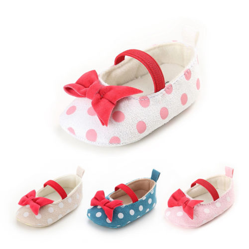 Mother & Kids Baby Shoes Newborn Infant Pram Mary Jane Girls Princess Shoes Soft First Walkers High Resilience