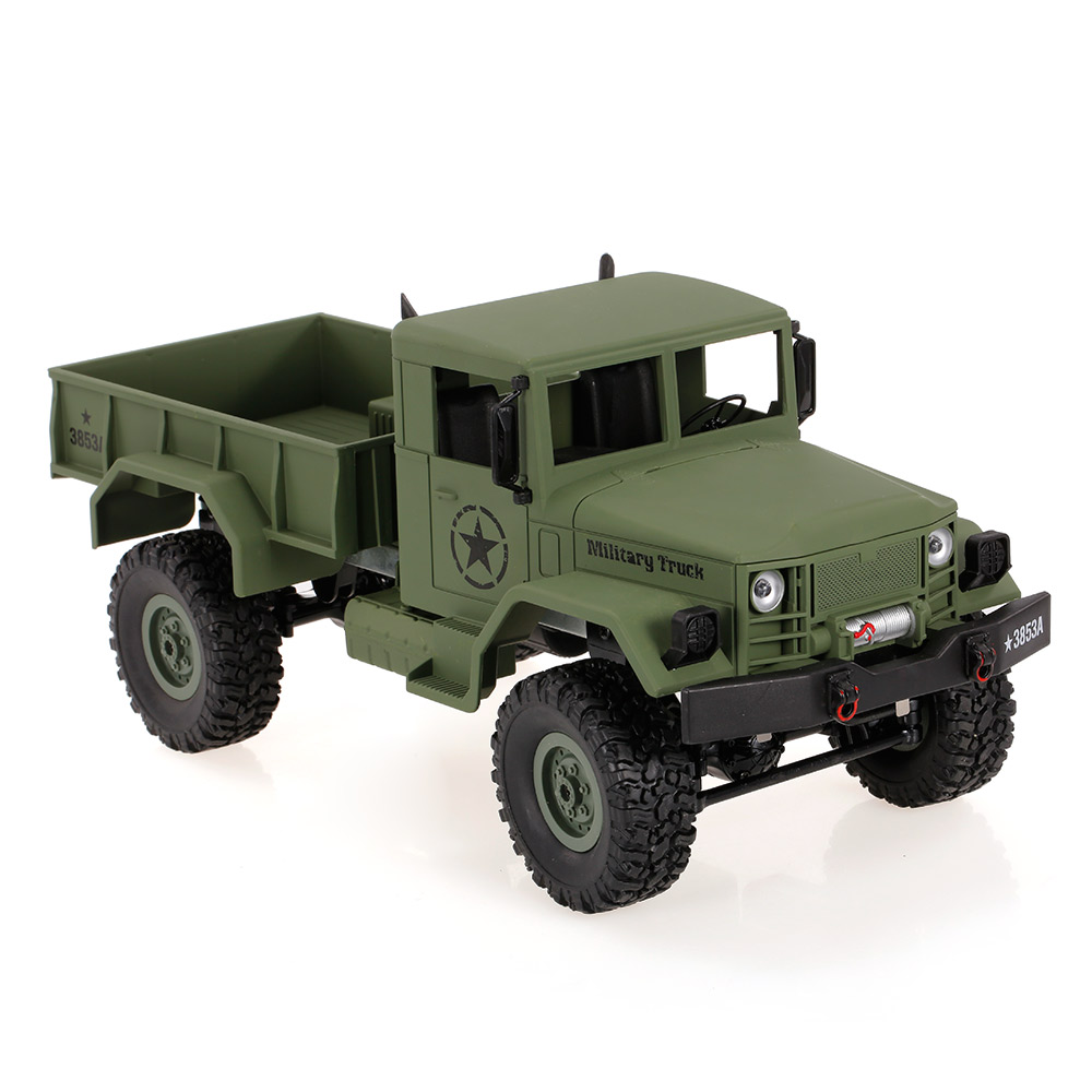 Remote Control Car 1/16 2.4G 4WD Off-Road RC Military Truck Rock Crawler Army Car Outdoor Toys for Children RC Vehicle Kids Toys 1 16 2 4g rc military truck toy remote control cars remote control truck rock crawler off road dirt toys big wheel car kid gift