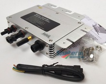 300 W Grid Tie Micro Zonne energie Omvormer WVC300 Met Wifi Communicatie, mppt Zuivere Sinus 22 50V Dc Naar AC120V Of 230V Ac