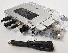 300 ワットグリッドネクタイマイクロ太陽光発電インバータ WVC300 無線 lan 通信、 mppt 純粋な正弦波 AC120V に 22 50 v dc または 230 v ac