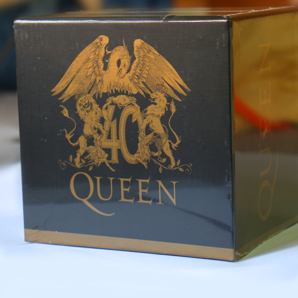 The Queen 40th Anniversary 30 CD Box Set Booklets Full Collection China Factory New Sealed Edition цены онлайн