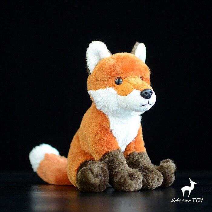Stuffed Animals Kids Toys  Plush  Firefox Doll Simulation Fox  Home Decoration  Gifts cute simulation fox plush toys kids appease doll gifts