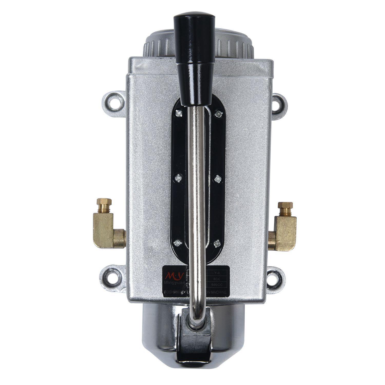Praktisch Neue Y-8 4mm Dia Outlet Schwarz Mannal Griff Schmierung Systeme Öl Pumpe Rohstoffe Sind Ohne EinschräNkung VerfüGbar Heimwerker