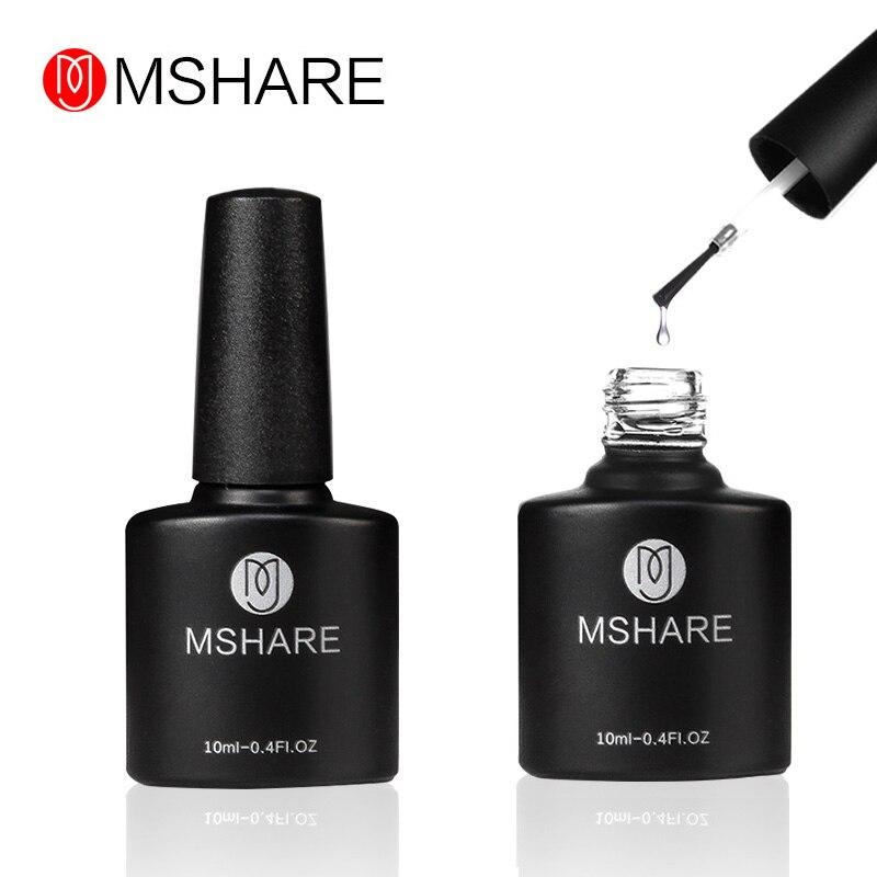 MSHARE Primer Base Coat Gel- ի լաք եղունգների լաք - Մանիկյուր - Լուսանկար 2
