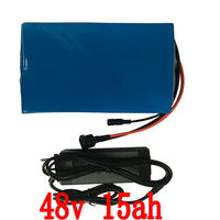 Free Customs Taxes High Quality 48 Volt Li Ion Battery Pack With Charger And BMS For