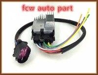 For Audi A6 C6 4f 2 0 TDI TFSI Control Unit Electric Fan Engine Cooling 4F0959501E