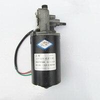 1PCS DC 12/24V Shaft High Torque Right Worm Gear Motor Speed Reduction