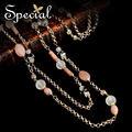 Special New Fashion Long Necklaces For Women Natural Pearls Multi-layer Statement Necklace For Girls Free Shipping XL141108