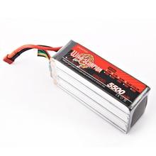 1pcs wild scorpion 100 new Brand RC 22 2V 5500mAh 35C Li polymer Battery For RC