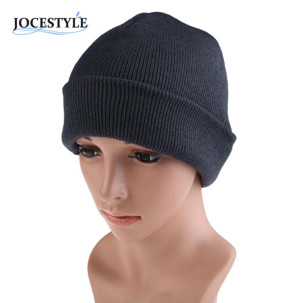 Winter Knit Ski Cap Men's Women plain Beanie  Hip-Hop Color  Hat  Warm Unisex Wool Hat  Spring Hats for Women Gorro Cap men women warm knit skullies bonnet beanie brand new wool winter baggy hat solid color hip hop gorro unisex female cap