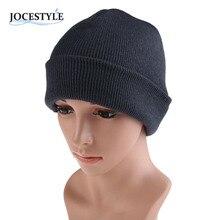 Winter Knit Ski Cap Men's Women plain Beanie  Hip-Hop Color  Hat  Warm Unisex Wool Hat  Spring Hats for Women Gorro Cap