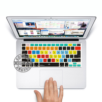 For Presonus Studio One Shortcut Keys Silicone Soft Keyboard Cover Skin Sticker For Apple Macbook Air