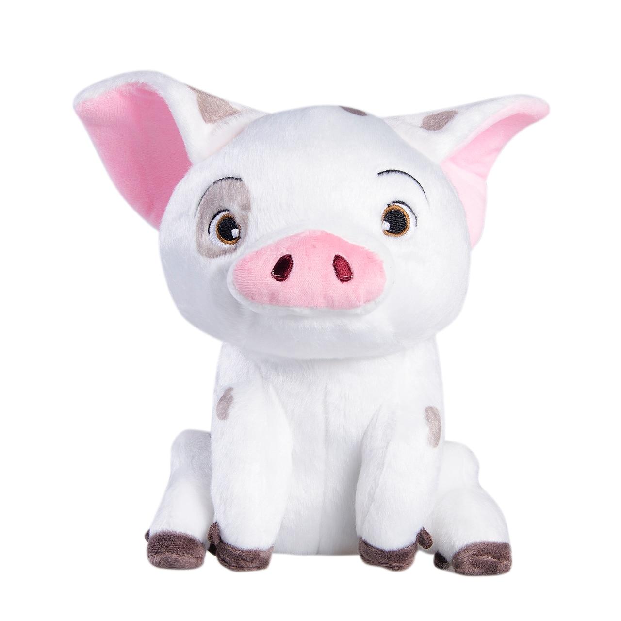 NEW Moana Pet Pig Pua Stuffed Animals Cute Cartoon Plush Toy Dolls 8 20 CM Kids Movie Collection Toys 2017 new super wings plush toys 20 30 cm cute cartoon soft stuffed dolls kids gift