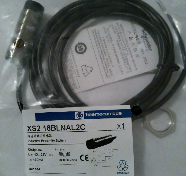 high quality XS2-18BLNAL2C Schneider original supply XS218BLNAL2C proximity switch 12 ~ 24V XS2-18BLNAL2C