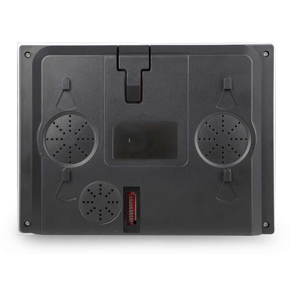 Biometryczny czytnik linii papilarnych hasło maszyna obsługująca pracownik rejestrator 2.8 cal ekran TFT LCD DC 5 V