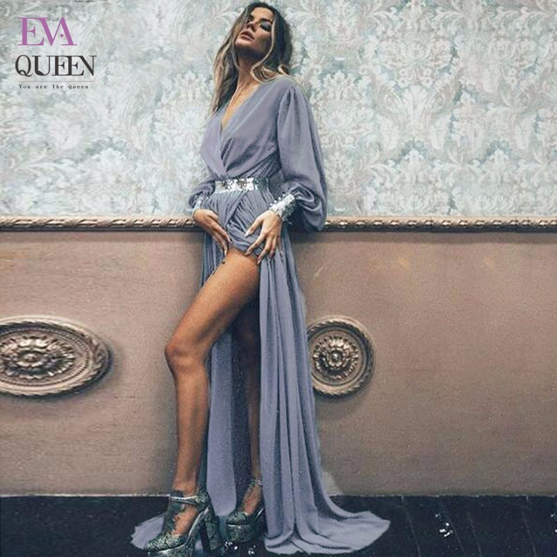 Tobinoone New Fashion summer <font><b>Dress</b></font> Female Black <font><b>Gray</b></font> Asymmetrical Elegant <font><b>Dress</b></font> Maxi Sexy Big Size Long <font><b>Dresses</b></font> Party Vestidos