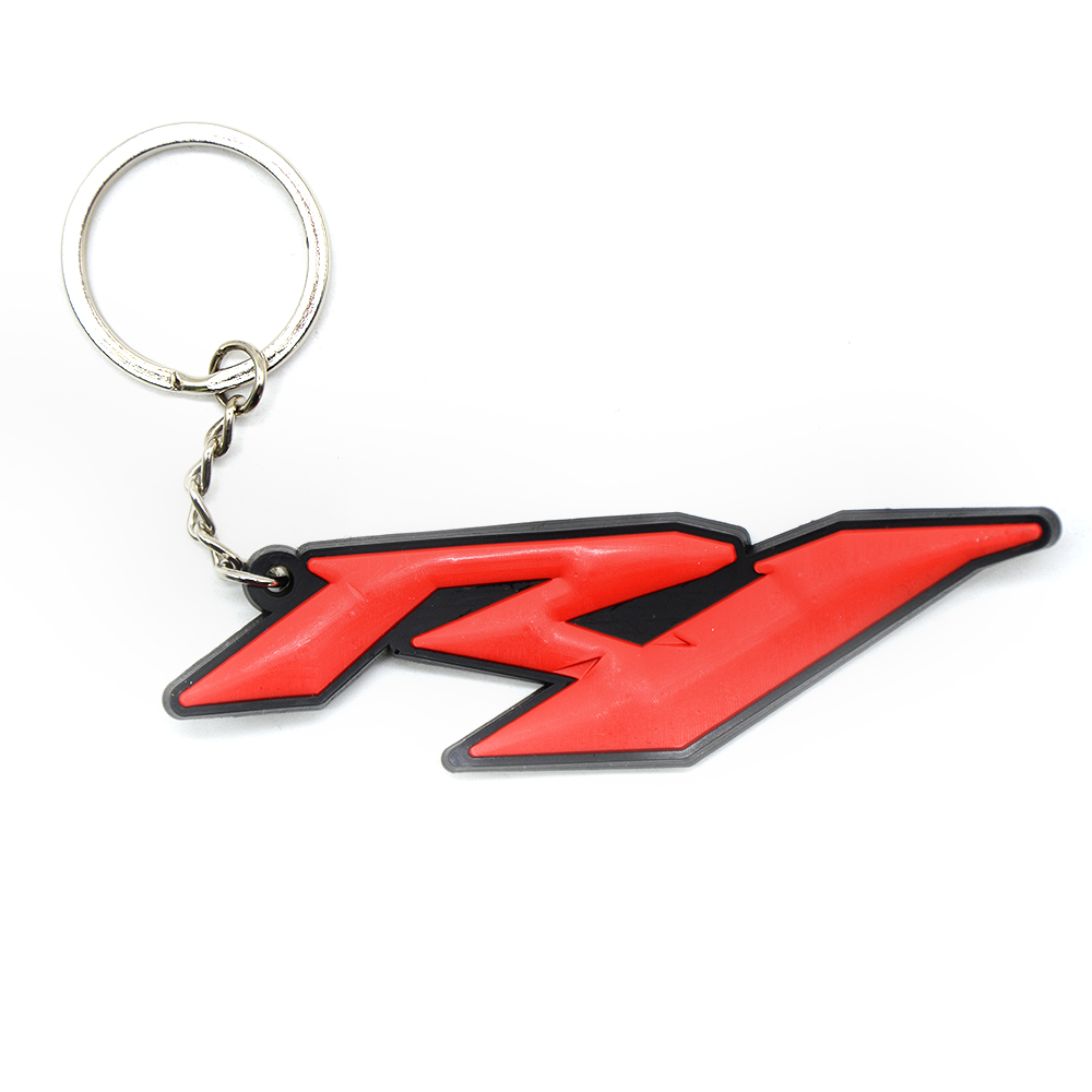 Image 4 - Universal Motorcycle Key Chain Keyring Soft Rubber Motorcycle Key Ring For Yamaha YZF R1 R6-in Covers & Ornamental Mouldings from Automobiles & Motorcycles