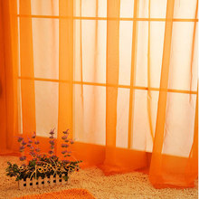 White Drapes Sheer Yarn Tulle Orange Curtains Room Divider Green Curtains  Room Decor Children Wedding Ceiling
