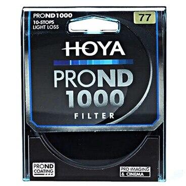 HOYA 77mm ND1000 Ultra mince densité neutre 10 arrêt pour caméra ND 1000 67 72 77 82 - 2