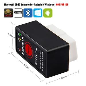 Image 2 - 10 stücke ELM327 V 1,5 Bluetooth mit PIC18F25K80 Chip Für Android OBD 2 Auto Diagnose Werkzeug ELM327 Bluetooth v 1,5 OBD2 Scanner tool