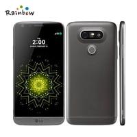 Оригинальный разблокирована LG G5 H860N H850 H820 Quad core мобильный телефон Android 5,3 16MP отпечатков пальцев FDD LTE одного один/Dual Sim