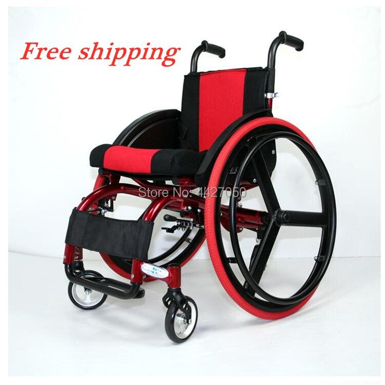 2019 the elderly font b disabled b font persons aluminum lightweight sport font b wheelchair b