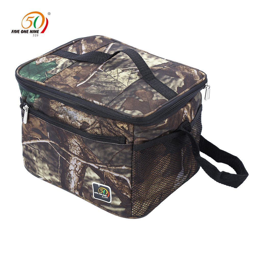 lunch box cooler outdoor picnic box bag water resistant insulated thermal 12984