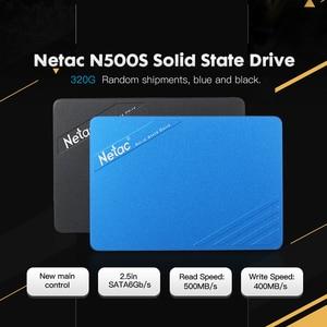 Netac N500S 60GB 120GB 240G 320GB SATA6Gb/s 2.5in Solid State Drive SATA 3 SSD HD Dist for laptop desktop pc