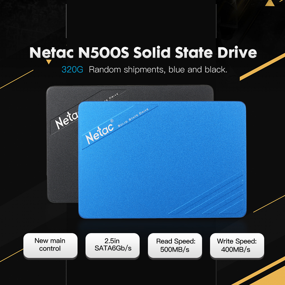 Netac N500S 60GB <font><b>120GB</b></font> 240G 320GB SATA6Gb/s 2.5in Solid State Drive SATA 3 <font><b>SSD</b></font> <font><b>HD</b></font> Dist for laptop desktop pc image