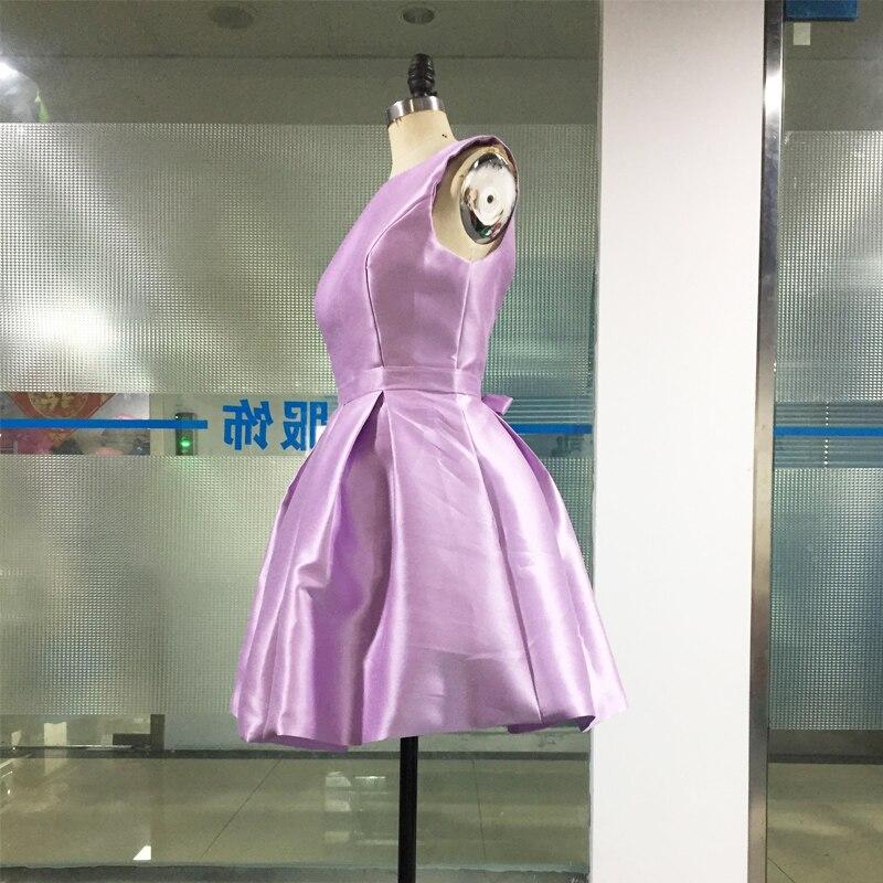 LORIE Billiga Korta Bröllopsklänningar 2018 Öppna Tillbaka Robe De - Bröllopsklänningar - Foto 3
