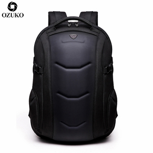 Image 2 - 2020 OZUKO Fashion Business Laptop Backpack Mens Multifunction Waterproof Oxford Travel Backpack Casual School Bag For Teenager