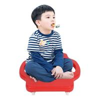 Children Scooter Board Handled Scooter Seat With Swivel Casters Plastic Scooter Board Safety Outdoor Toy for Children