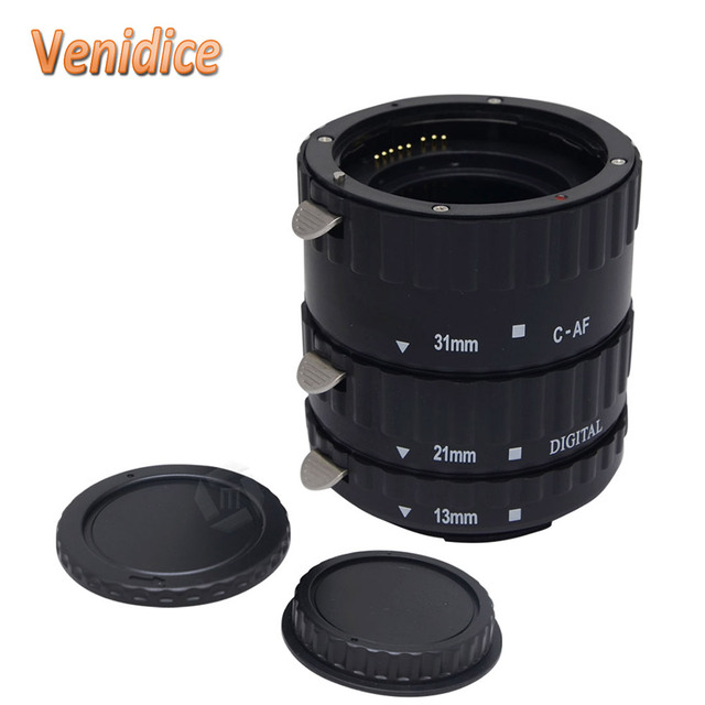 Mcoplus KCE-C-B TTL Автофокус АФ Макро Удлинитель Кольцо Пластика для Canon EOS EF EF-S 500D 55D 450D 1100D 600D T5i T4i T3i