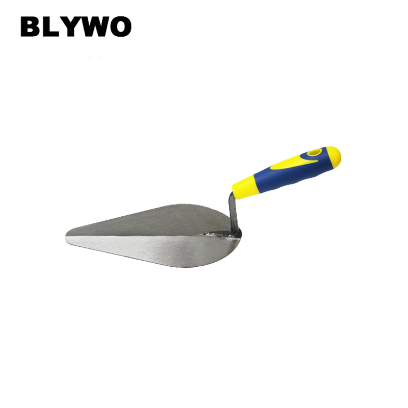 7 Inch Margin Trowel With Comfort Plastic Handle For Hand Tools DIY Bricklaying Trowel