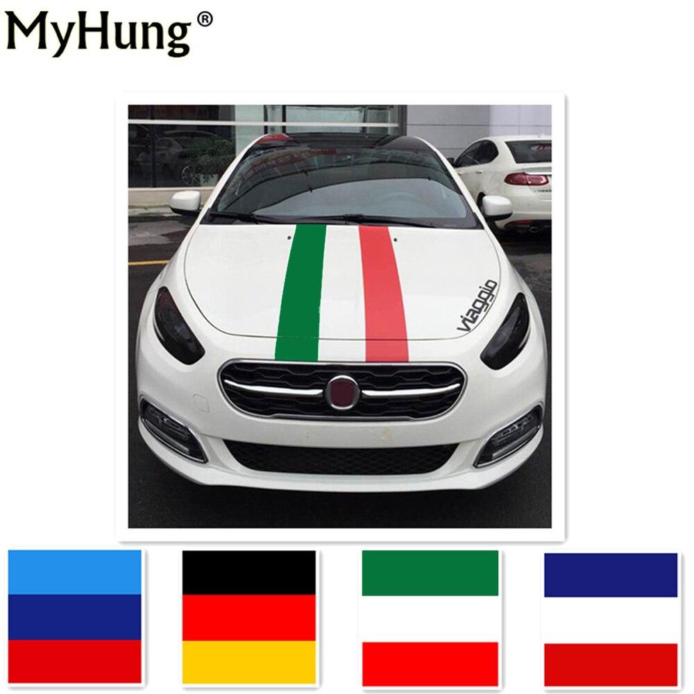 Bumper sticker design ideas - Car Styling Germany Flag Car Stripes Sticker France Flag Diy Colorful Stickers For Fiat Bravo Punto