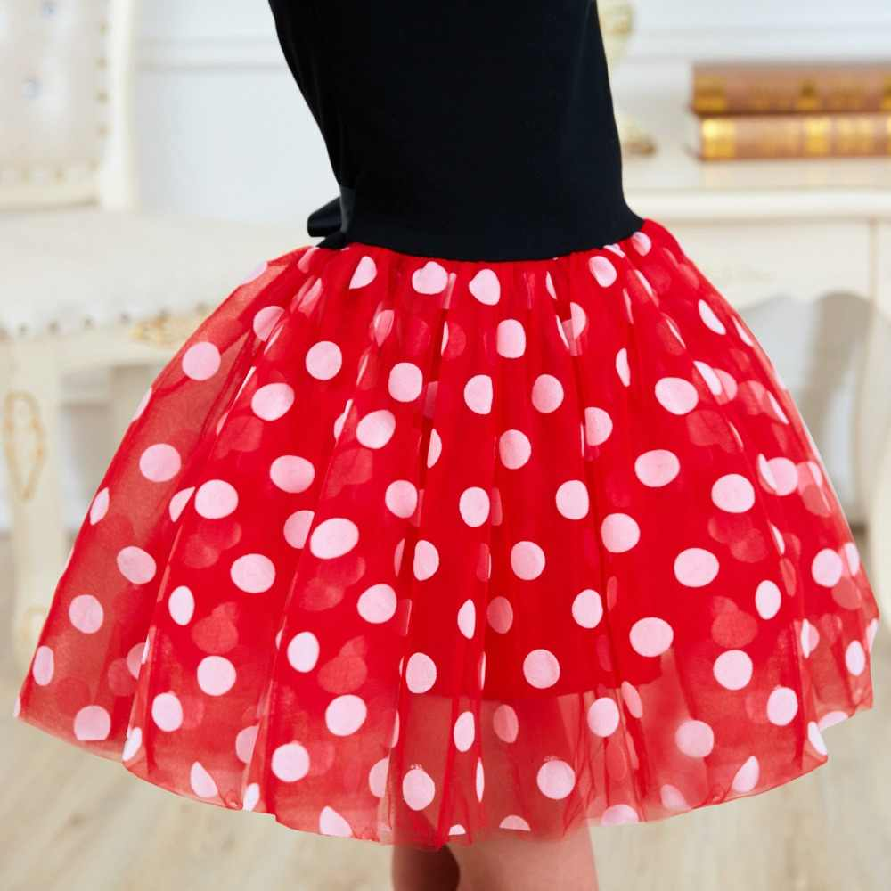 1 year Easter birthday party dress Cosplay Minnie Mouse boy dress baby suit Girls Baby clothes 2 -7T wear